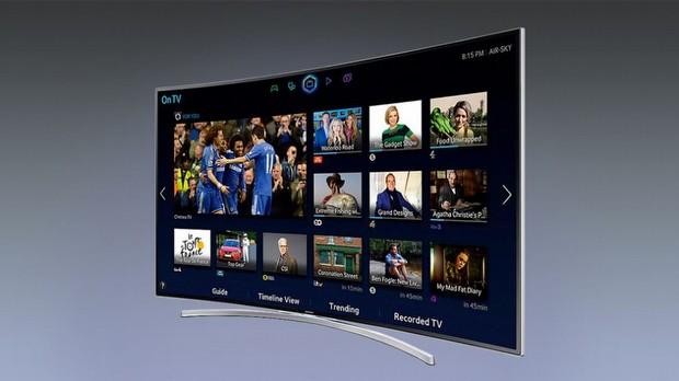 Samsung Kavisli LCD Televizyon