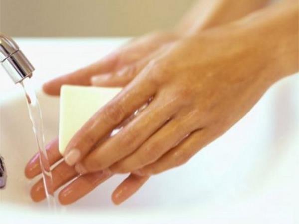 sabunla el yıkamak