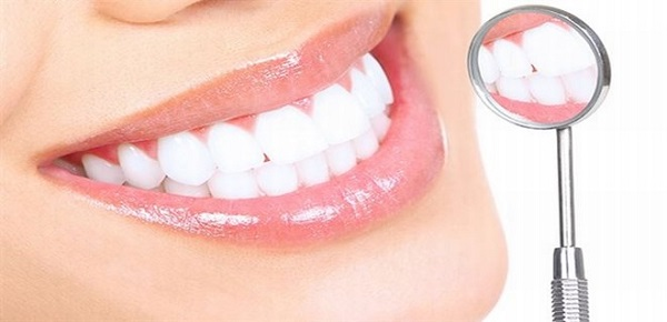 parlak dişler