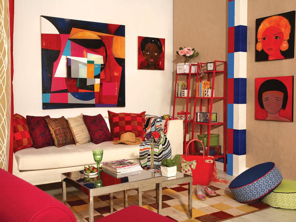 renkli dekorasyonlar