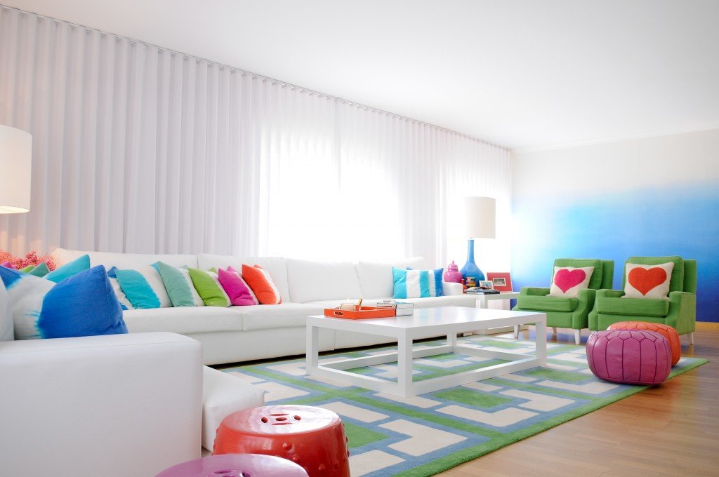 renkli dekorasyon önerileri