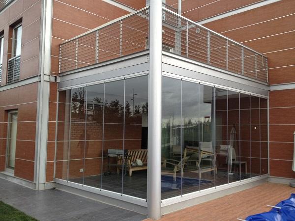 katlanabilir cam balkon sistemi