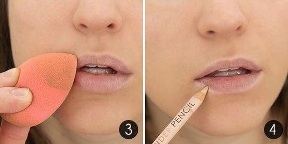 beyaz dudak kalemi